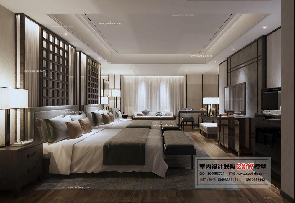 中国室内设计模型2017年线条ps流畅联盟不绘制图片